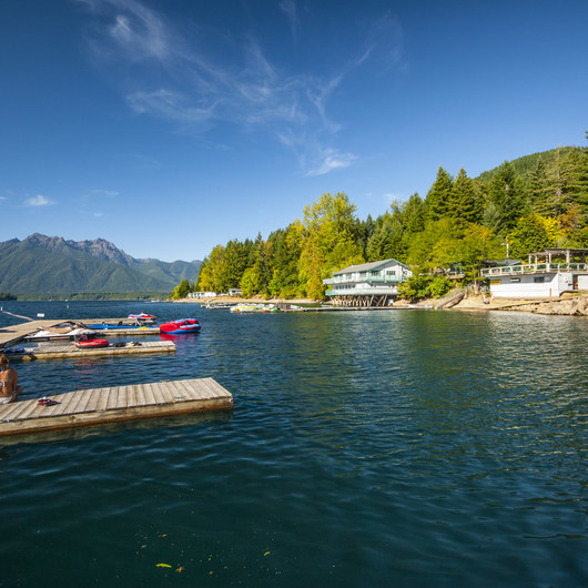 Lake Cushman Resort + Campground