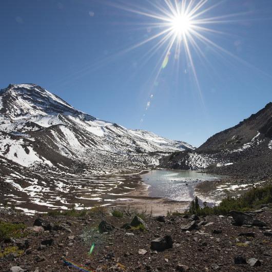Chambers Lakes Hike via Obsidian Trailhead