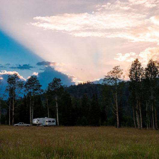 Big Flat Dispersed Camping Area