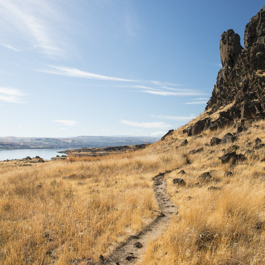 Horsethief Butte Hike + Rock Climbing Area