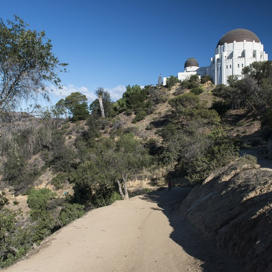 Griffith Observatory Hike via East Observatory Trail