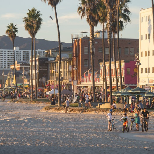 Venice Beach + Boardwalk