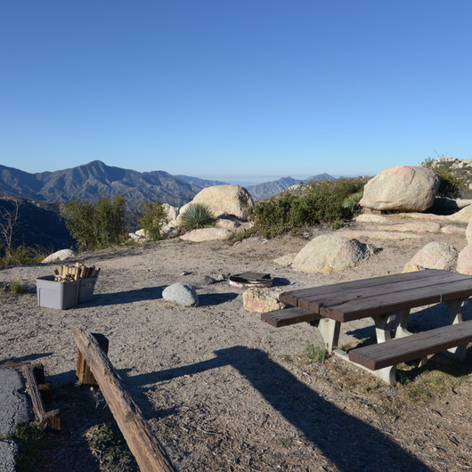 Chilao Campground, Manzanita Loop