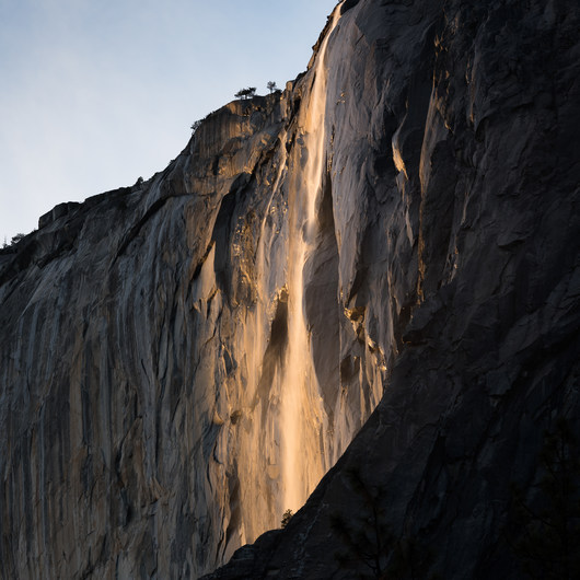 Horsetail Fall, Firefall