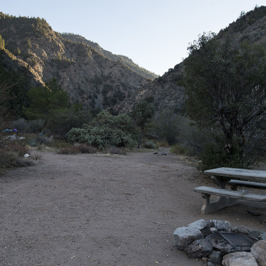 South Fork Campground, Big Rock Creek