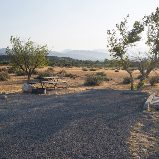 Mojave River Forks Regional Park Campground