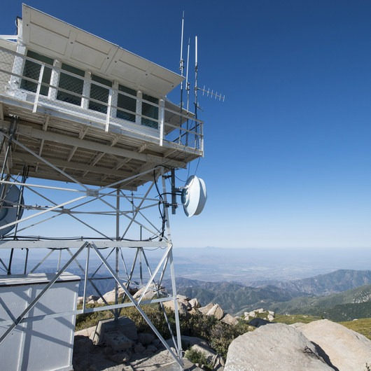 Keller Peak Fire Lookout Tower
