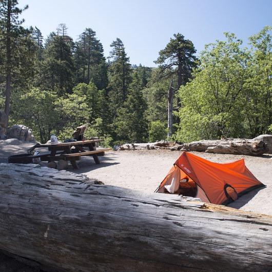 Keller Peak Yellow Post Campsites