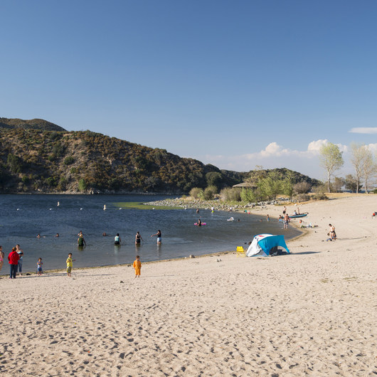 Silverwood Lake Swim Beach