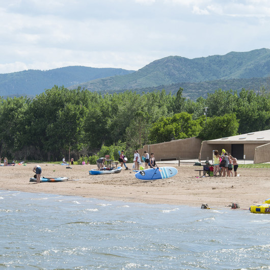 Chatfield Reservoir Swim Beach
