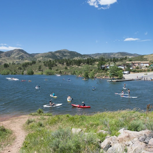 Horsetooth Reservoir County Park
