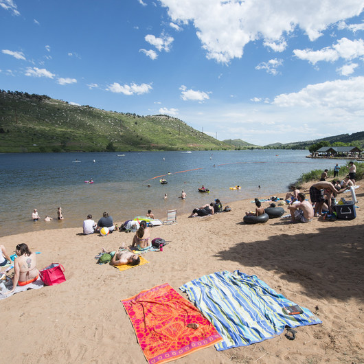 South Bay Day Use Area + Swim Beach