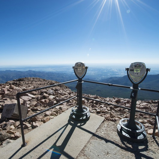 Pikes Peak Summit + Highway