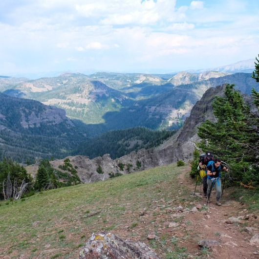 Sky Rim Trail: Specimen Creek to Black Butte