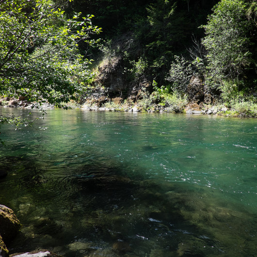 North Fork Middle Fork Willamette Swimming Hole 3.5