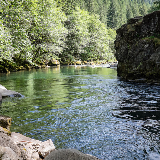 North Fork Middle Fork Willamette Swimming Hole 5.5