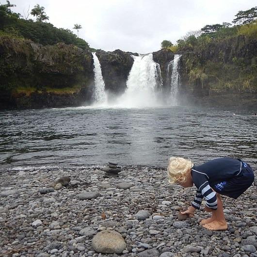 Wai'ale Falls