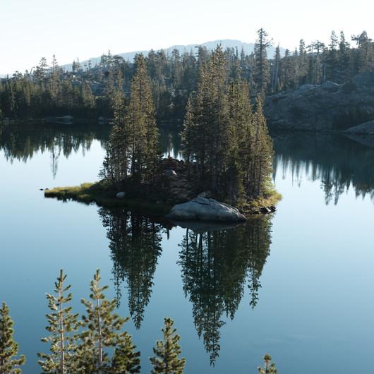 Island Lake via Round Lake Trail