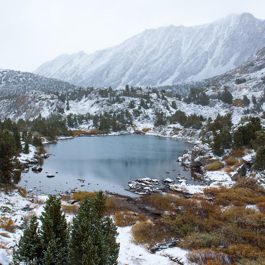 South Lake, Bishop Pass Trail