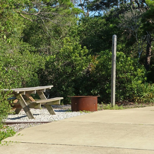 Henderson Beach State Park Campground