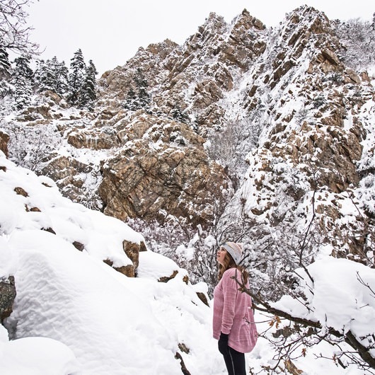 Heughs Canyon Snowshoe