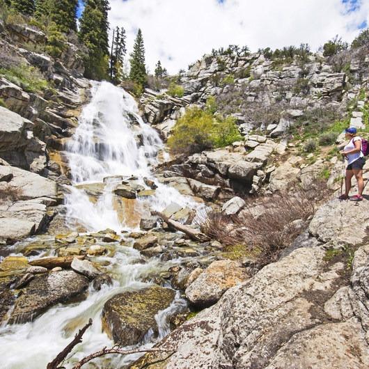 Horsetail Falls via Dry Creek Trail