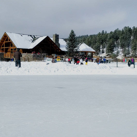 Evergreen Lake House Ice Skating