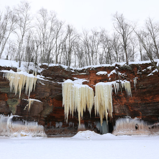 Apostle Islands Mainland Ice Caves