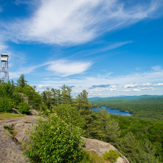 Bald Mountain + Rondaxe Fire Tower