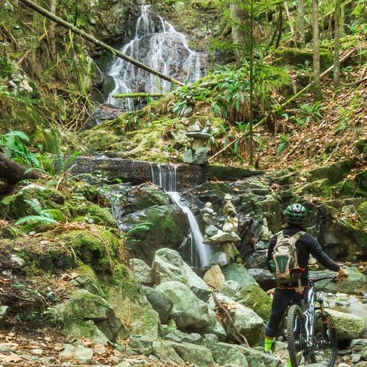 Menzies Trail Mountain Bike Ride
