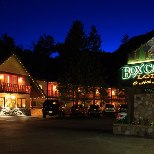 Box Canyon Lodge + Hot Springs