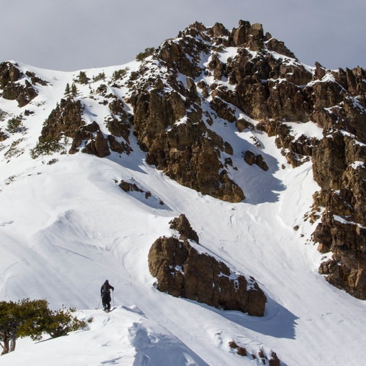Mount Diller Backcountry Ski: Southwest Chute