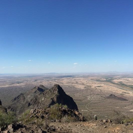 Picacho Peak via Hunter Trail