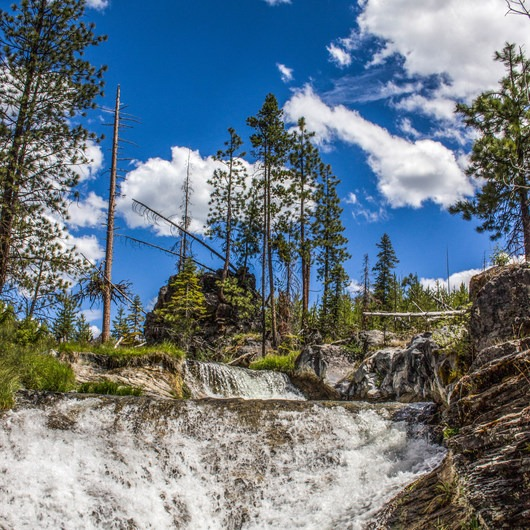 Paulina Creek Waterfalls Mountain Biking