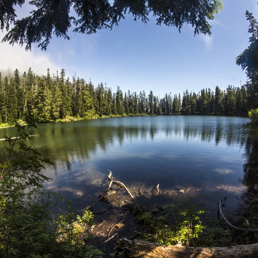 Soda Peaks Lake
