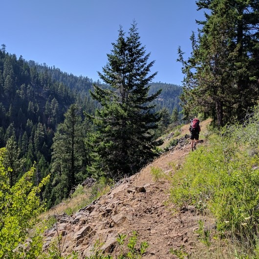 Ochoco Mountains Loop: Rock Creek to Black Canyon Wilderness