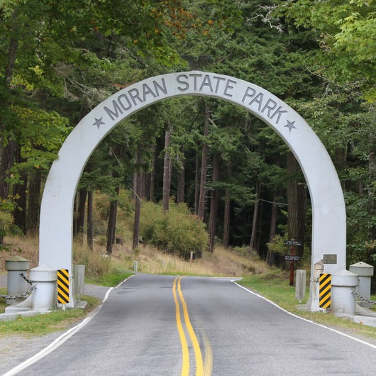 Orcas Island: Moran State Park Campgrounds