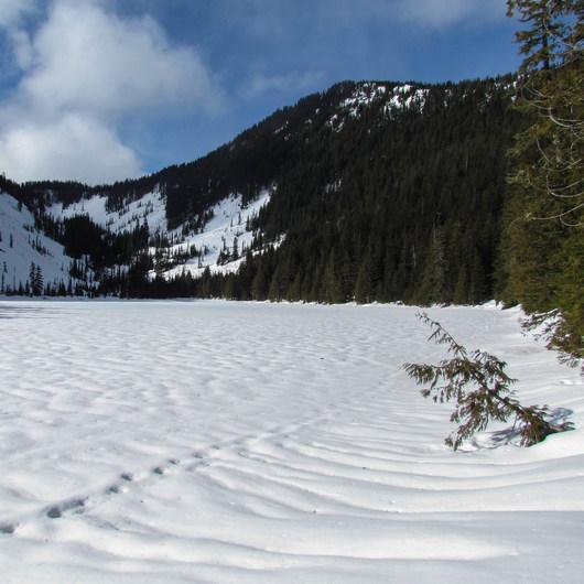 Talapus Lake Snowshoe