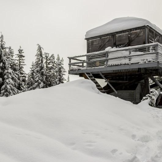 Devils Peak Snowshoe
