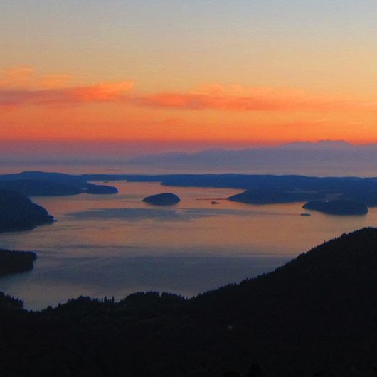 Orcas Island, Mount Constitution Hike