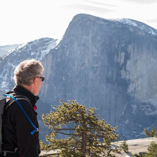 North Dome via Yosemite Falls