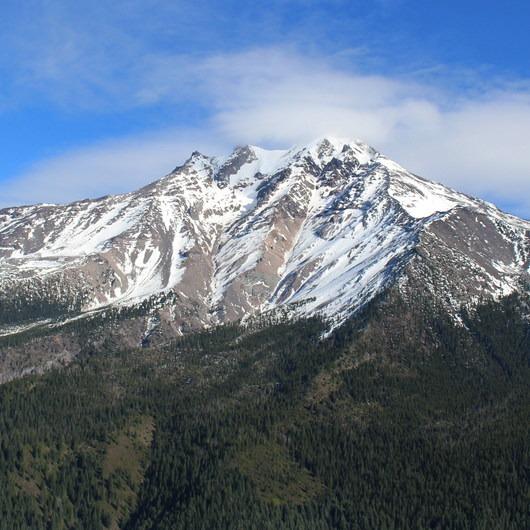 Pamelia Lake + Grizzly Peak