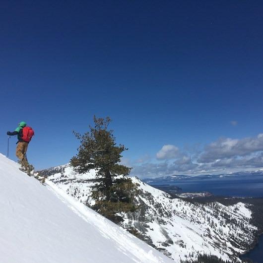 Angora Peak: Northwest Gullies