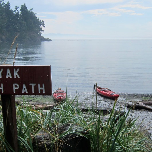 San Juan Island, Sea Kayaking Smallpox Bay to Deadman Bay