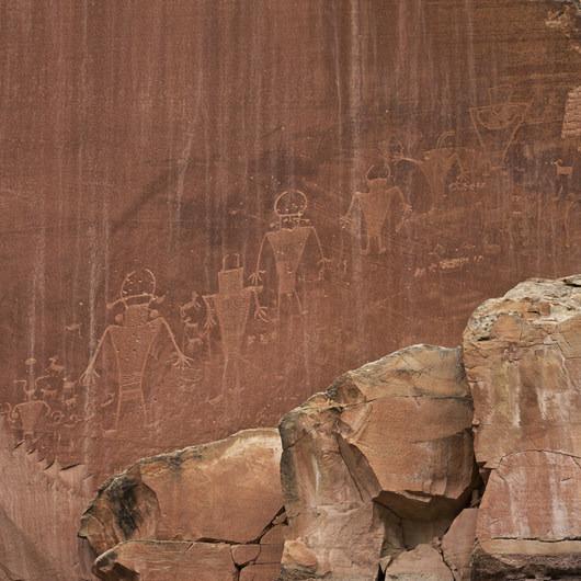 The Fruita Petroglyphs