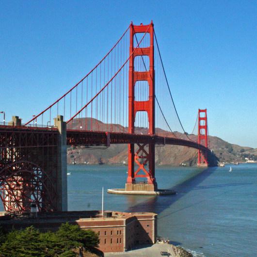 Golden Gate Bridge + Fort Point