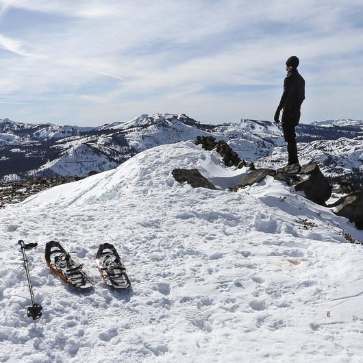 Donner Ridge Snowshoe via Glacier Way Trailhead