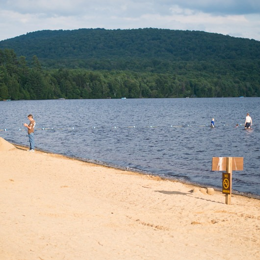 Meacham Lake Beach