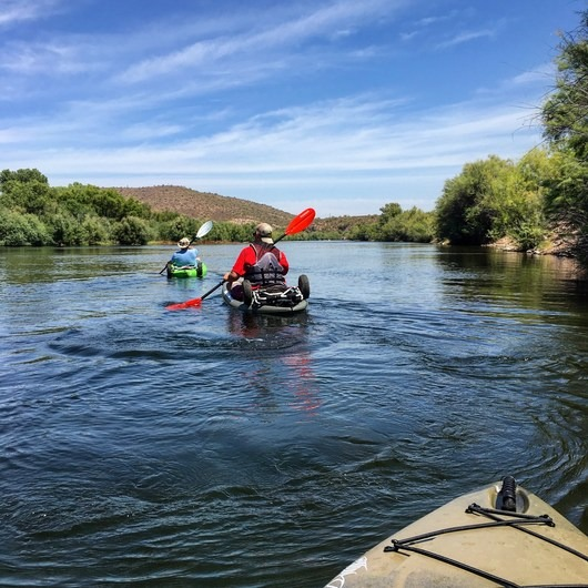 Lower Salt River: Water Users Camp Circle to Granite Reef