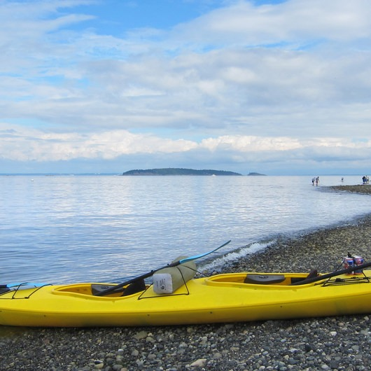 Matia Island to Orcas Island Sea Kayaking